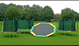 Play King sells, installs, and services Magic Cage and Magic Circle trampolines. South Florida dealer.